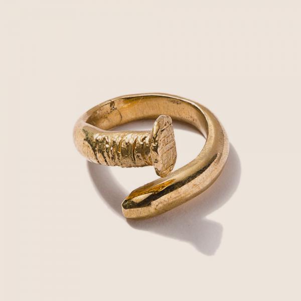 Oversized Nail Ring